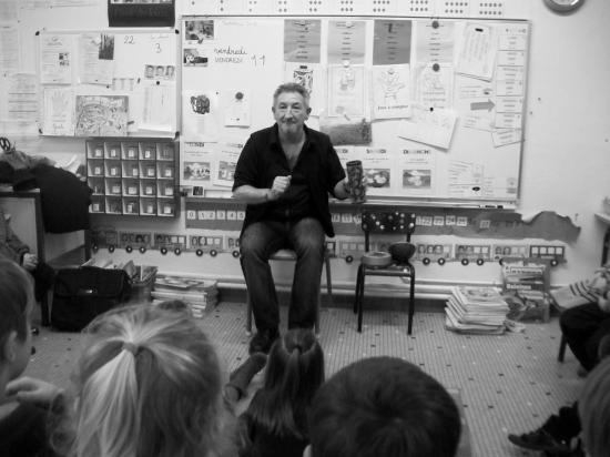 Atelier conte école Kerhoas Brest janvier 2013