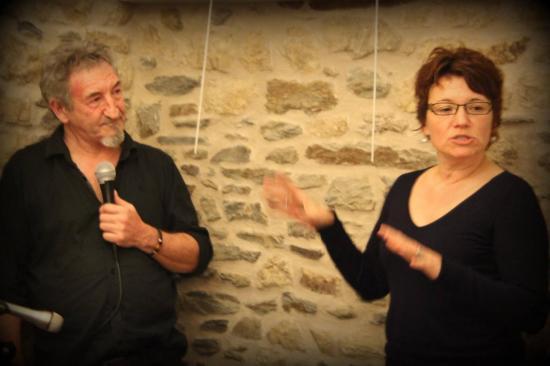Contes et langue des signes à Landerneau 15 fev 2014