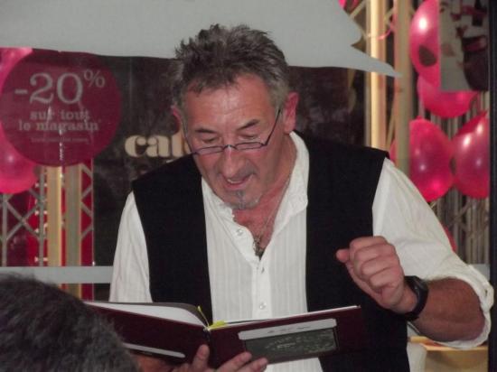 soirée lectures poèmes et autres haikus. oct 2012