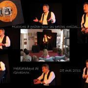 Histoires à goûter... Médiathèque de Gouesnou