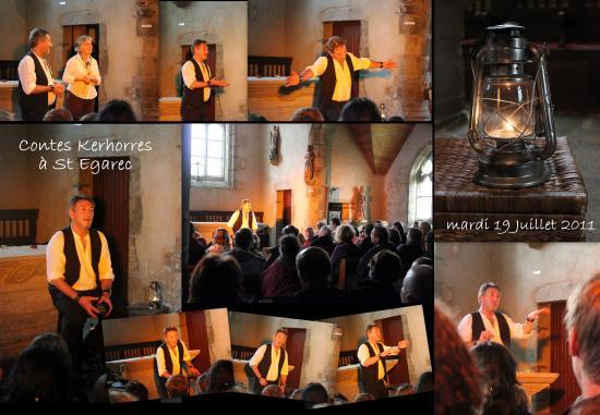 CHAPELLE SAINT EGAREC KERLOUAN LE 19 JUILLET 2011