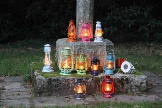 la magie des lanternes pour les balades nocturnes