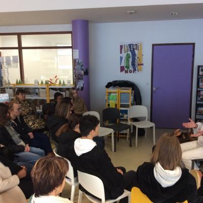 contes au lycée Brest décembre 2019