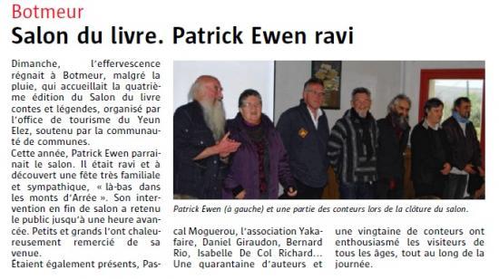 AVEC PATRICK EWEN