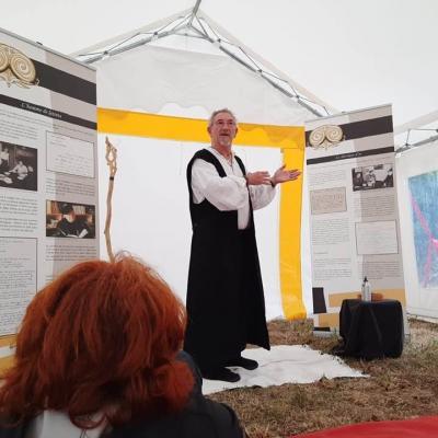 à Pouldrezic en hommage à Pierre Jakez Hélias 13 août 2020