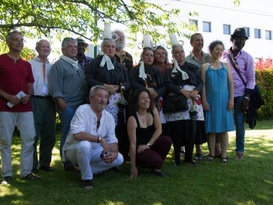 les conteurs du festival de Baden juillet 2016