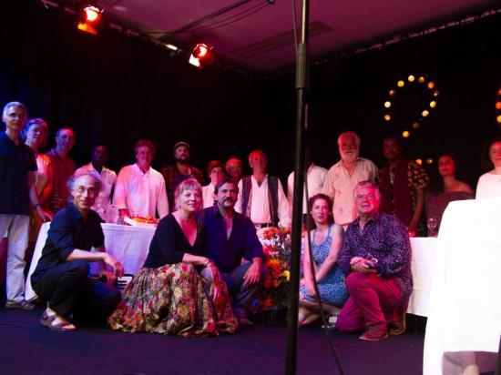 final du spectacle chaudron de contes Baden juillet 2016