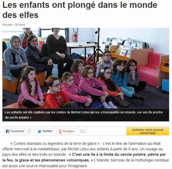 Article ouest france plouider